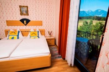 Zimmer in der Pension Waldrast
